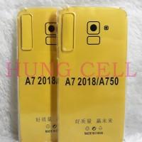 Soft Case Anticrack For Samsung A7 2018 Silikon Anti Crack Anti Bentur