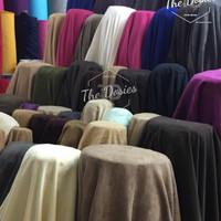BAHAN KAIN BELUDRU ITALY / DOUBLE SUEDE ITALY