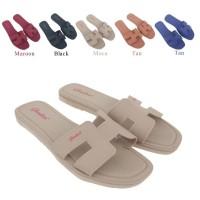 Sandal Wanita Flat Jelly Gl1839