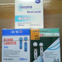 Lancet untuk alat gcu(nesco,easytouch,autochek