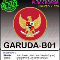 Patch Badge Flock BORDIR INDONESIA GARUDA [B01]