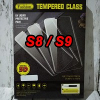 UV Tempered Glass Full Cover Samsung Galaxy S8