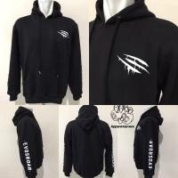 Baju Apparel Jumper Jacket Jaket Gaming - Hoodie Evos CLAW Original