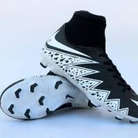 sepatu bola nike hypervenom high hitam putih murah terlaris