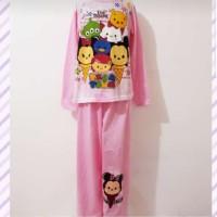 Baju Tidur Disney Tsum Anak Tanggung 8-12 th / Setelan Baju Tidur Anak