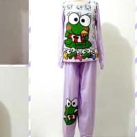 Baju Tidur Keropi Anak Tanggung 8-12 th / Setelan Baju Tidur Anak