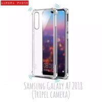 Anti Crack TPU Soft Case Casing For Samsung Galaxy a7 2018 tripel