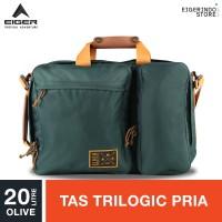 Eiger 1989 Portmantes Trilogic Bag 20L - Olive