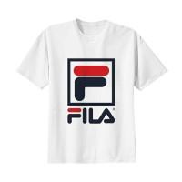Kaos Baju Tshirt Distro Fila 02 Logo Putih