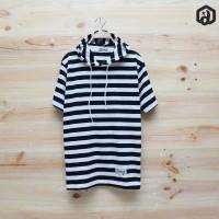 Baju Kaos hoodie - Hodie Kupluk - Premium Distro motif belang biru