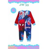 Baju Bayi Spiderman. Romper Bayi. jumper Bayi. 1127