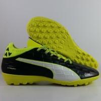 Sepatu futsal / putsal / footsal Puma Evotouch 3 Black Safety Yellow R