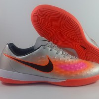 Sepatu futsal / putsal / footsal nike Magista Onda II Silver Orange IC