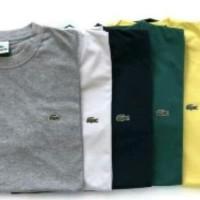 Tshirt kaos baju pria big size 2xl 3xl 4xl LACOSTE NEW BRANDED