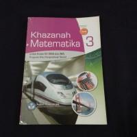 BUKU KHAZANAH MATEMATIKA SMA KLS 3 BSE IPS