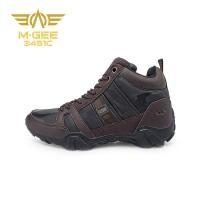 Mgee Alaska 2 Sepatu Boots Pria - Army Black