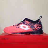 Sepatu Futsal Lotto Veloce IN Bright Peach L01040002 Original BNIB