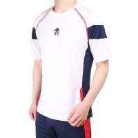 Baju Futsal Olahraga Badminton 1006 White - Putih, S