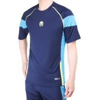 Baju Futsal Olahraga Badminton 1006 Navy - Navy, S