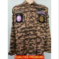 [PRAMUKA] Baju PDL Loreng Pramuka (full perepet)