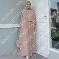 BEST SELLER Mizza maxi dress-baju gamis murah terbaru kekinian-baju