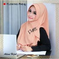 jilbab instan pashmina murah syari khimar hana najwa terbaru FLOWING