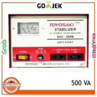 Stabilizer SVC-500N Toyosaki 500 Watt (Listrik Stabil 220V)