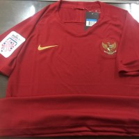 JERSEY BAJU BOLA TIMNAS INDONESIA HOME + PATCH PIALA AFF 2018 GRADE OR