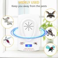 Alat Anti Nyamuk Ultrasonic Pengusir Hama TikusKecoak Lalat Semut Pest