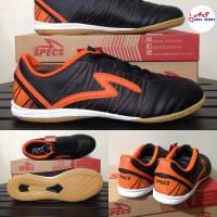 Sepatu Futsal Specs Horus Black Orange Sepatu Futsall
