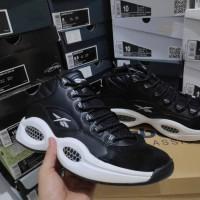 Sepatu Basket Reebok Question Iverson Black White Hitam Putih