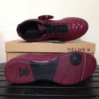 Meida Fashion Sepatu Futsal Kelme Power Grip Maroon Black 1102130