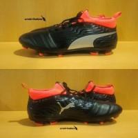 Puma One 18.3 FG - Black. Sepatu Bola Puma Murah Original Rare Item.