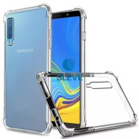 Case Anti Crack For Samsung A7 2018 Bahan Mika / Acrylic Anti Bentur