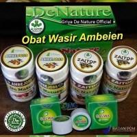 DIJAMIN ASLI Obat Wasir Ambeien Herbal Ambeyen Produk Denature