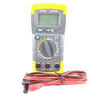 Multimeter Avometer digital Multitester + kabel tester heles UX 838TR