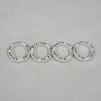Ban/Tires Super Hard Narrow Arched Marking (Size L, White) Rep. Tamiya