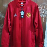 Jaket Tracktop Adidas Manchester United Original