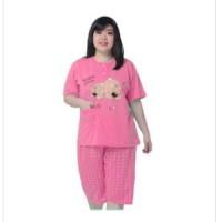 mc fashion Stelan baju tidur tangan pendek wanita bigsize