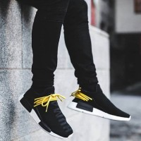 Human Species X PW X Adidas NMD HU Black Perfect Kick