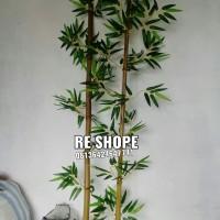 Bambu Hias Pohon Plastik