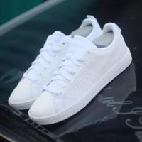 Sepatu Adidas Original Neo Adventage Original Full White