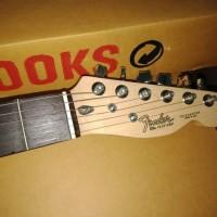 Gitar elektrik fender telecaster natural Custom