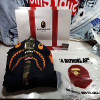 Bape x Undefeated Double Zip Hoodie Best Perfect Replica 1:1