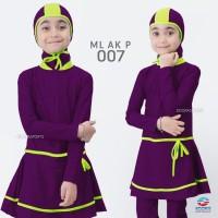 Baju Renang Anak Perempuan Edora Muslimah ML AK P 007