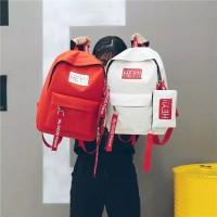 Tas Ransel Nylon Tas Sekolah Tas Ransel Travelling Tas Ransel Backpack