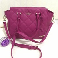 tas Kate Spade Hayden Small Emerson Place Babe Berry Pink original