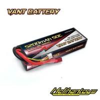 Vant 5200mAh 7.4V 50C Hard Case Battery LiPo - Vant5200-2S-50C