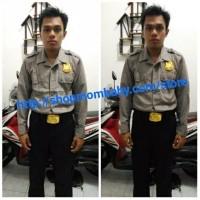 baju profesi polisi dewasa