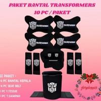 Paket Bantal Transformers Isi 10 pcs/Bantal Mobil Transformer